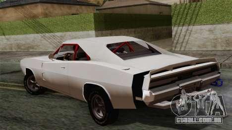 Dodge Charger 6o para GTA San Andreas esquerda vista