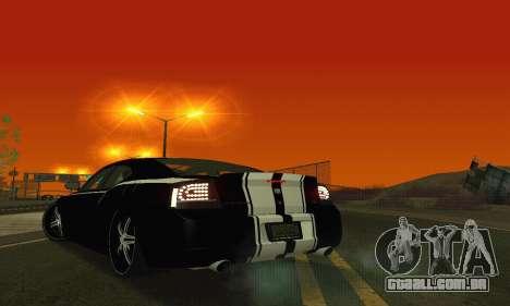 Dodge Charger DUB para GTA San Andreas vista inferior