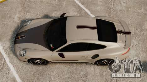 Porsche 911 Turbo 2014 [EPM] TechArt Design para GTA 4 vista direita
