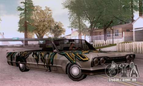 O trabalho de pintura para a savana para GTA San Andreas
