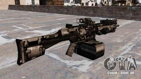 Metralhadora de uso geral HK23E para GTA 4 segundo screenshot