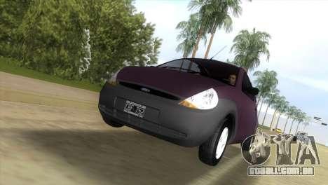 Ford Ka para GTA Vice City vista traseira esquerda