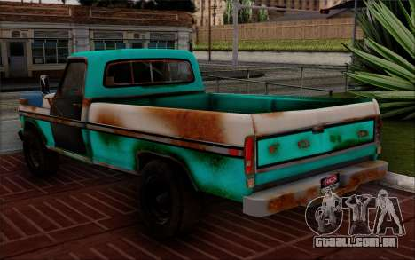 Ford F-150 Old Crate Edition para GTA San Andreas esquerda vista