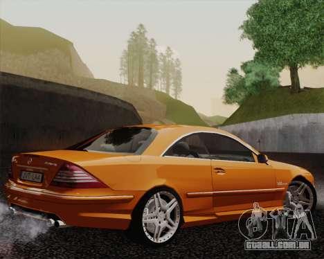 Mercedes-Benz CL65 para GTA San Andreas esquerda vista
