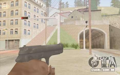Stechkin pistola para GTA San Andreas segunda tela