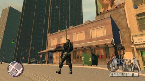 Crysis NanoSuit para GTA 4 segundo screenshot