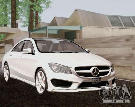 Mercedes-Benz CLA 250 2013 para GTA San Andreas