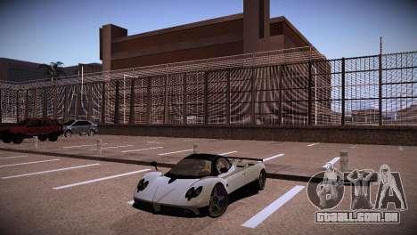 Pagani Zonda para GTA San Andreas vista traseira