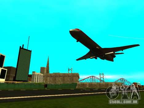 ENBSeries with View Distance para GTA San Andreas oitavo tela