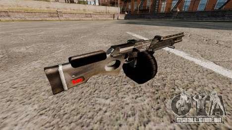 Espingarda automática para GTA 4 segundo screenshot