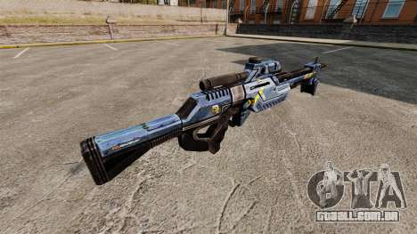 Rifle sniper de Mass Effect para GTA 4 segundo screenshot