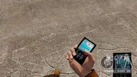 Tema do cubo para o seu telefone para GTA 4