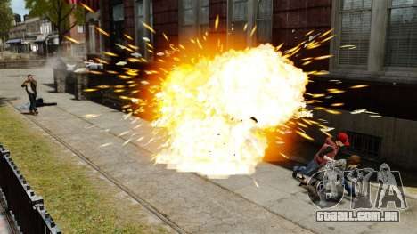 Balas explosivas para GTA 4 por diante tela