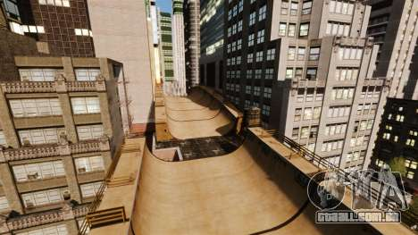 Algonquin Stunt Ramp para GTA 4 segundo screenshot