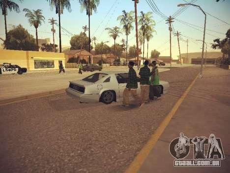 GTA SA Low Style v1 para GTA San Andreas