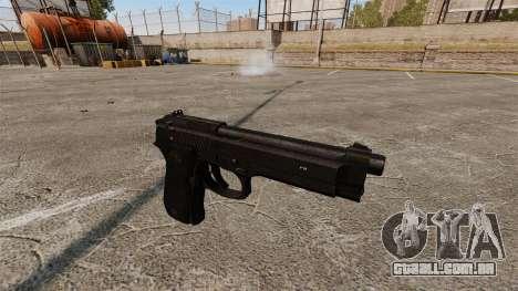 Beretta M9 pistola para GTA 4