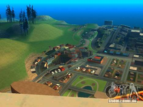 ENBSeries with View Distance para GTA San Andreas segunda tela