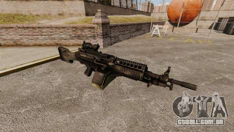 Metralhadora leve de FN Mk 46 para GTA 4