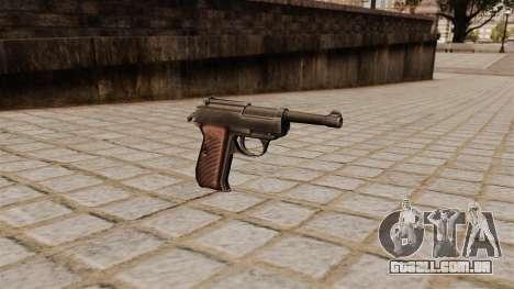 Pistola Walther P38 para GTA 4
