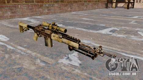 Rifle sniper M21 Mk14 para GTA 4