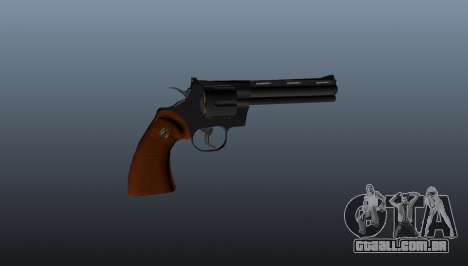 Revólver Python 357 6 em para GTA 4 terceira tela