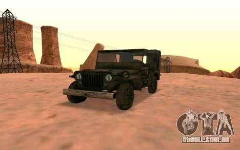 Willys MB v ju2 para GTA San Andreas
