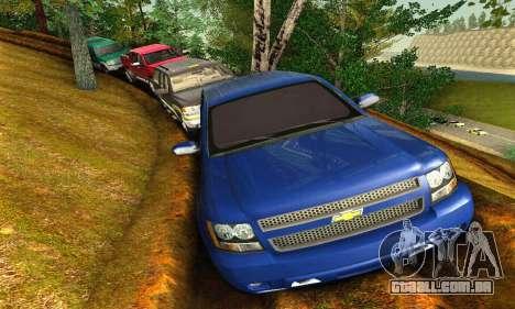 Chevrolet Suburban 2008 para GTA San Andreas esquerda vista
