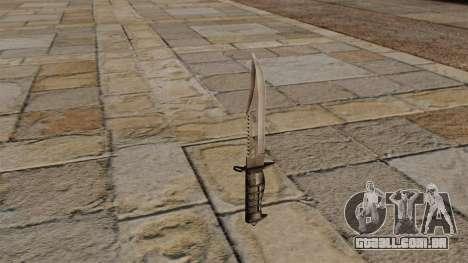 Faca de combate para GTA 4