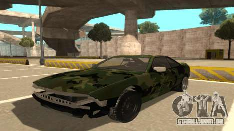 BMW 850CSi 1996 Military Version para GTA San Andreas