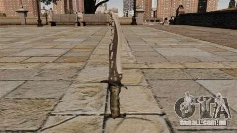 Faca de combate elite, o Raider de lâmina para GTA 4