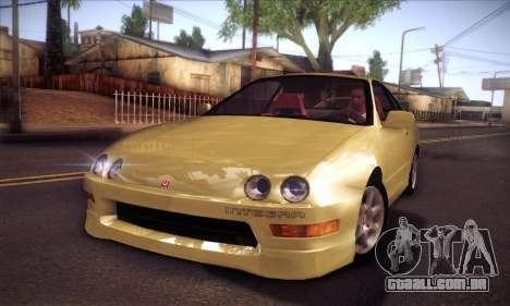 Honda Integra Drift para GTA San Andreas