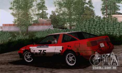 Uranus Rally Edition para GTA San Andreas esquerda vista