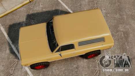 Chevrolet Blazer K5 1972 para GTA 4 vista direita