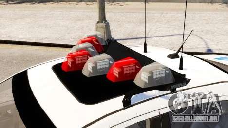 Ford Fusion LCPD 2011 [ELS] para GTA 4 vista direita