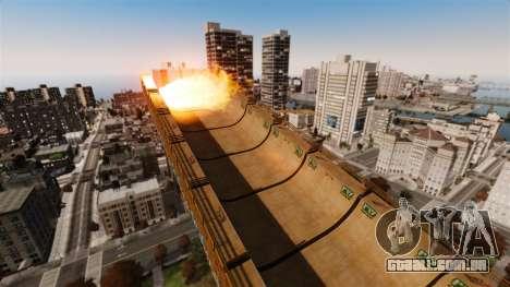 Algonquin Stunt Ramp para GTA 4 sexto tela