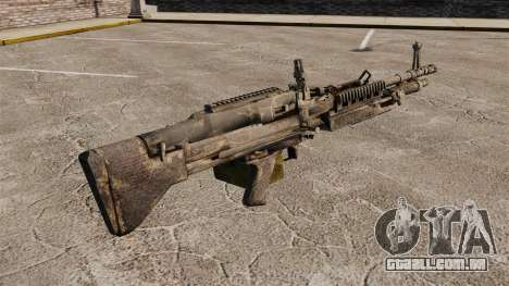 Metralhadora de uso geral M60E4 para GTA 4 segundo screenshot