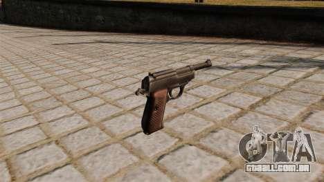Pistola Walther P38 para GTA 4 segundo screenshot