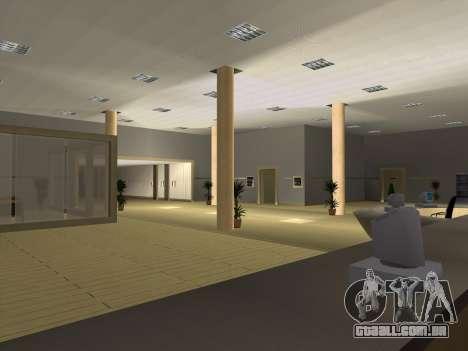 Novas texturas Interior da prefeitura para GTA San Andreas quinto tela