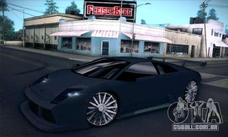 Lamborghini Murcielago GT Carbone para GTA San Andreas vista superior