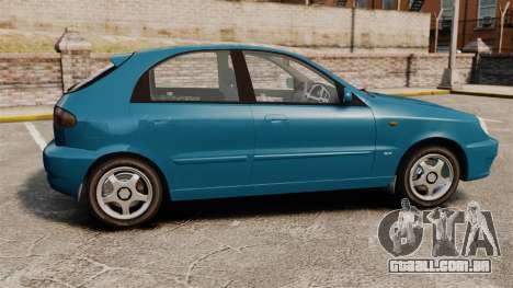 Daewoo Lanos PL 2001 para GTA 4 esquerda vista