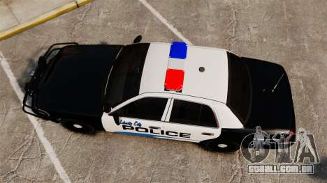 Ford Crown Victoria Police Interceptor [ELS] para GTA 4 vista direita