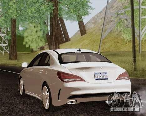 Mercedes-Benz CLA 250 2013 para GTA San Andreas esquerda vista
