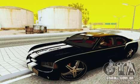 Dodge Charger DUB para GTA San Andreas esquerda vista