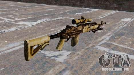 Rifle sniper M21 Mk14 para GTA 4 segundo screenshot