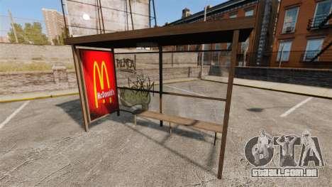 Novos cartazes em pontos de ônibus para GTA 4 terceira tela