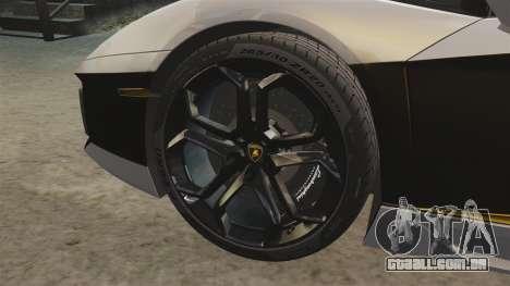 Lamborghini Aventador LP700-4 2012 v2.0 [EPM] para GTA 4 vista interior