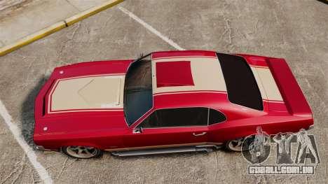 Sabre RS para GTA 4 vista direita