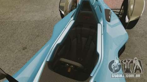 BAC Mono v2.0 para GTA 4 vista lateral