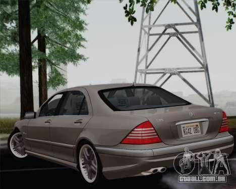 Mercedes-Benz AMG S65 2004 para GTA San Andreas esquerda vista