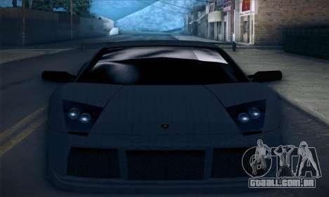 Lamborghini Murcielago GT Carbone para o motor de GTA San Andreas